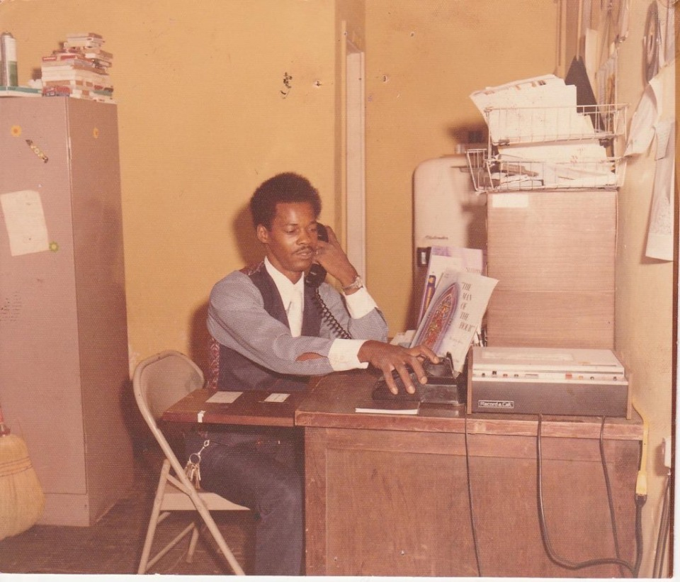 <strong>The Rev. Juan Shipp during his days as a gospel DJ at KWAM and WDIA</strong> (Submitted by Juan Shipp)