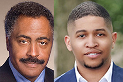 <strong>State Rep. John DeBerry (left) is facing Torrey Harris in the race for the House District 90 seat in November.&nbsp;</strong>(File photos)