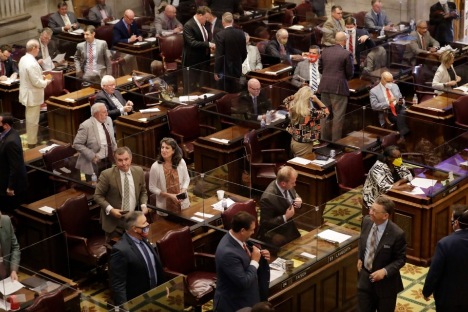 <strong>The Tennessee Legislature, seen here in August, created INVestco in 2009.</strong> (Mark Humphrey/AP)