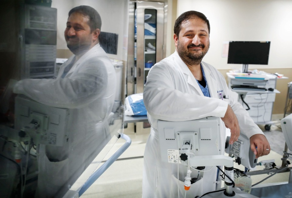 <strong>Basil Paulus,&nbsp;medical director of the Baptist Valve Clinic and a cardiologist at Stern Cardiovascular, has been repairing heart valves with the MitraClip G4, which offers surgeons longer and thicker clips to shore up leaky mitral valves.</strong> (Mark Weber/Daily Memphian file)