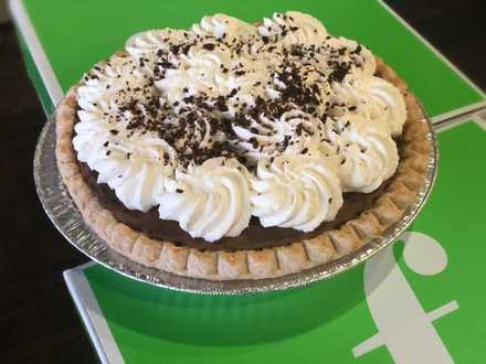 "<strong>If you can make a pie like the chocolate silk pie at Frost Bake Shop, you might win tickets to see ""Waitress"" at the Orpheum.</strong> (Jennifer Biggs/Daily Memphian)"