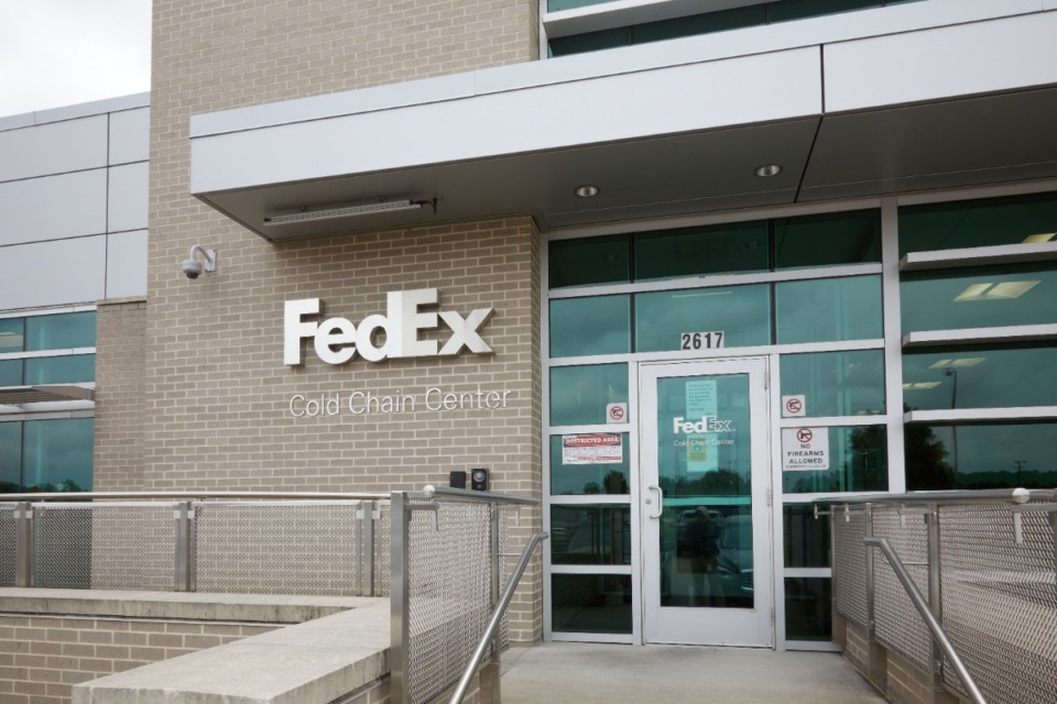<strong>When FedEx&rsquo;s $25 million Cold Chain Center opened at the FedEx Express hub at Memphis International Airport 41/2 years ago, it was among the first in what&rsquo;s now a network of 90 FedEx cold chain facilities in the Americas, Europe, Asia and Australia.</strong> (Submitted by FedEx)