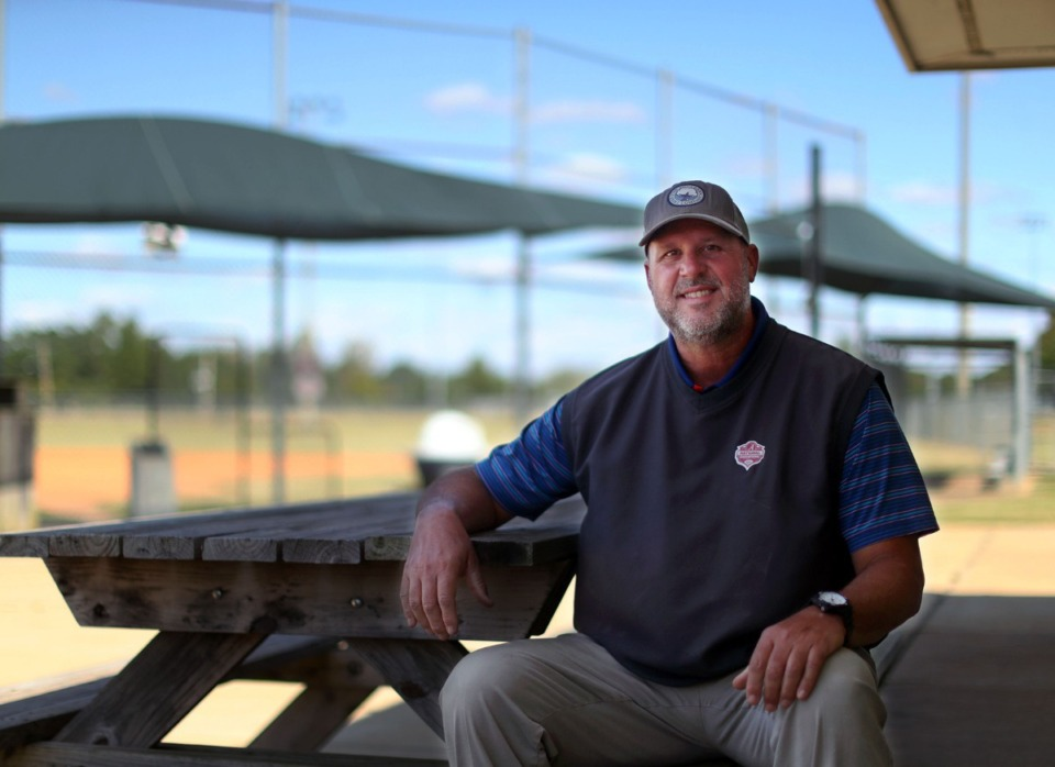 <strong>&ldquo;I have a degree in exercise science, so I&rsquo;ve always been around athletics,&rdquo; said Arlington Parks Director Lee Upchurch, who was photographed at the Arlington Sports Complex Oct. 2, 2020.</strong> (Patrick Lantrip/Daily Memphian)