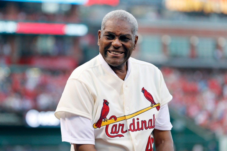 <strong>Bob Gibson (in a 2017 file photo)&nbsp; died Friday, Oct. 2, which was&nbsp;52 years to the day that he struck out 17 Detroit Tigers in Game 1 of the 1968 World Series.</strong> (Jeff Roberson/AP)