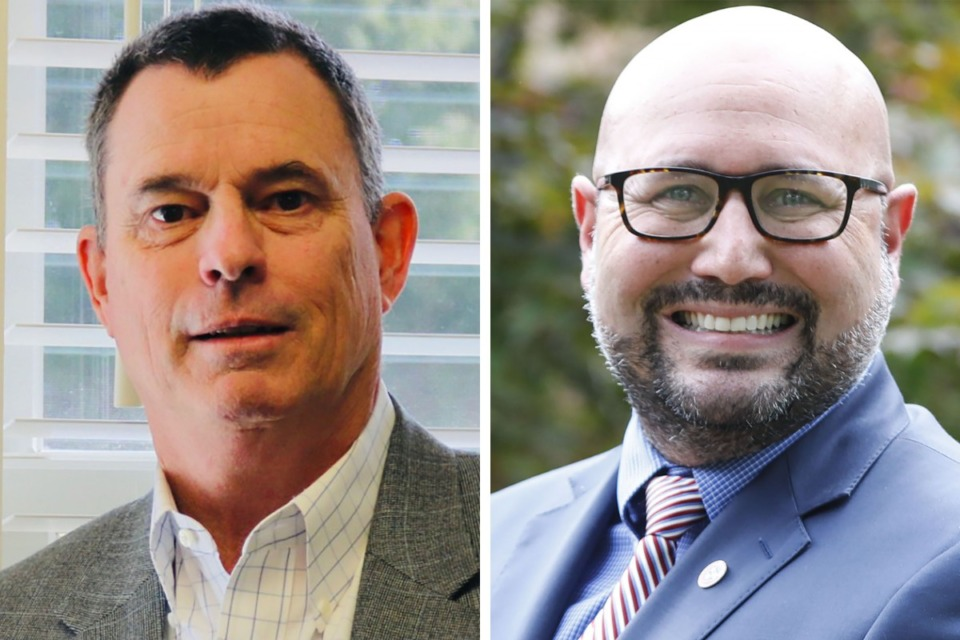 <strong>Jon McCreery, left, and Brandon Musso are running for Germantown Alderman Position 5.</strong>
