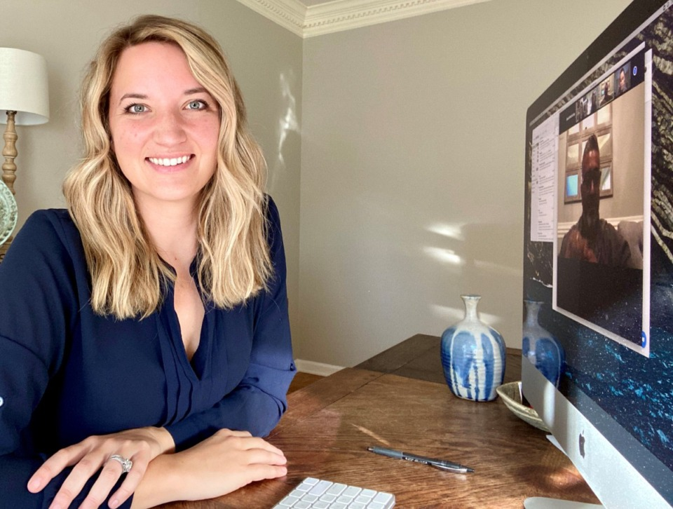 <strong>Alexandra Shockey, manager, global social media for FedEx Corp., has been working from home since March.</strong> <em>(Submitted)</em>