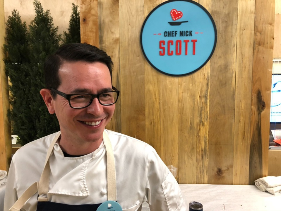 <strong>Chef Nick Scott, seen here in 2019, just reopened Alchemy.</strong> (Daily Memphian file)