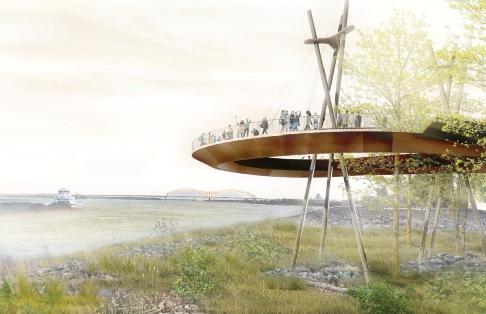 <strong>Canopy Walk</strong> (Studio Gang and SCAPE)