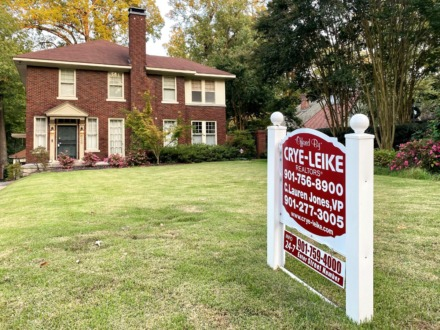 <strong>Crye-Leike Realtors reports having a terrific September for sales, perhaps because of the pandemic as well as low interest rates. </strong>(Tom Bailey/Daily Memphian)