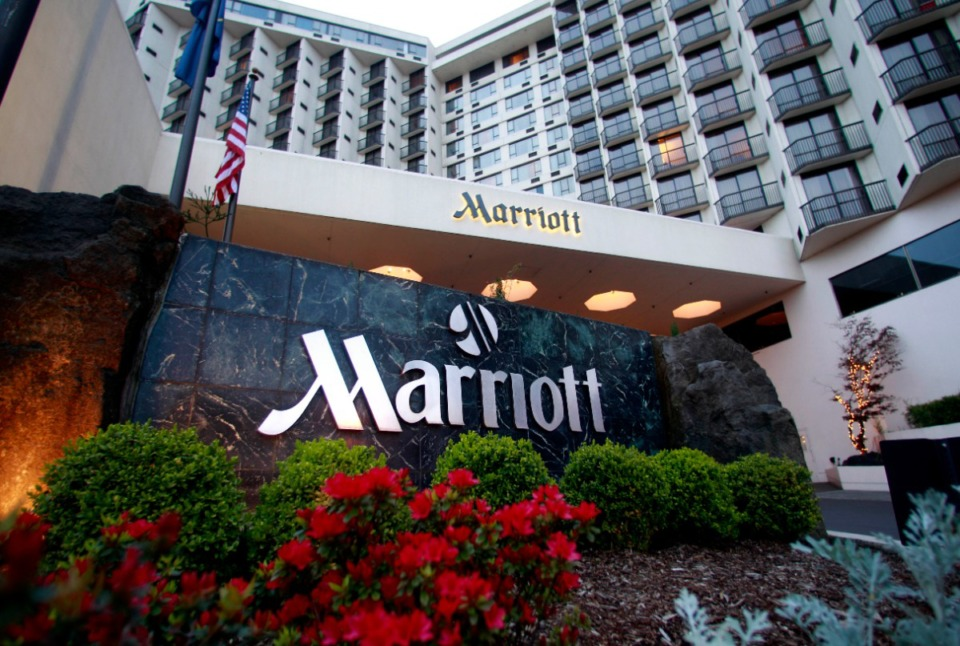 <strong>This April 20, 2011 file photo shows Portland Marriott Downtown Waterfront in Portland, Ore. The world&rsquo;s largest hotel company said in March 2020, approximately 5.2 million guests may have been affected by a data breach.</strong> (AP Photo/Rick Bowmer, File)