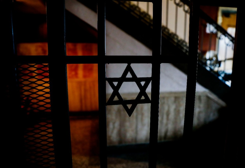 <strong>The Star of David is visible from a small prayer room inside the former Baron Hirsch Synagogue building.</strong> (Mark Weber/Daily Memphian)