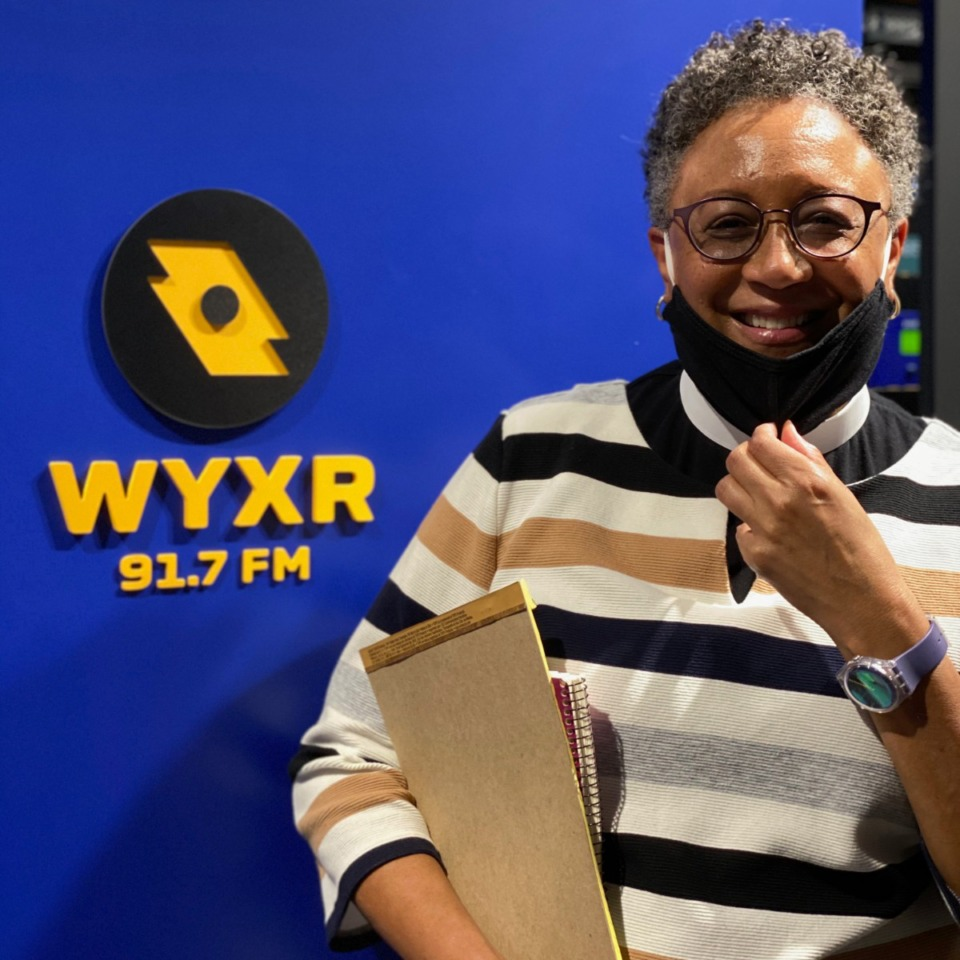 <strong>Bishop&nbsp;Phoebe Roaf&rsquo;s &ldquo;Faithfully Memphis&rdquo; features her signature calm, spiritual meditation. The talk show made its debut on WYXR on Thursday, Oct. 15.</strong> (Jared Boyd/Daily Memphian)