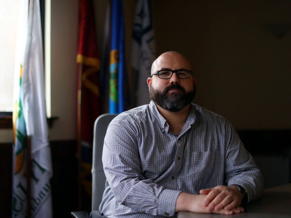 <strong>Richard Donovan is the city of Lakeland&rsquo;s new city planner, replacing Forrest Owens. &ldquo;There&rsquo;s quite a stock of projects coming to Lakeland,&rdquo; said Donovan.</strong> (Patrick Lantrip/Daily Memphian)