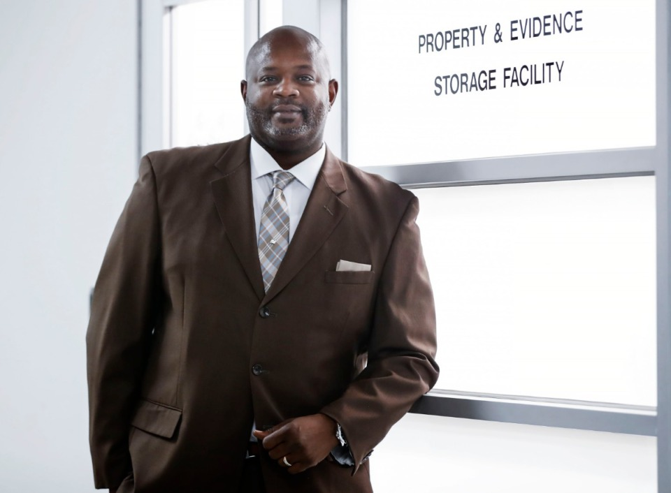 <strong>All evidence taken from the Shelby County Criminal Court property and evidence room has to be tagged, logged and barcoded and there is a two-step verification system now in place, said&nbsp;Lawrence Denton II, director of operations for the criminal court clerk&rsquo;s office. </strong>(Mark Weber/Daily Memphian)