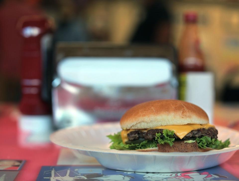 <strong>An award-winning hamburger Handy Andy in Oxford, Mississippi, seen on Oct. 20, 2020.</strong> (Patrick Lantrip/Daily Memphian)