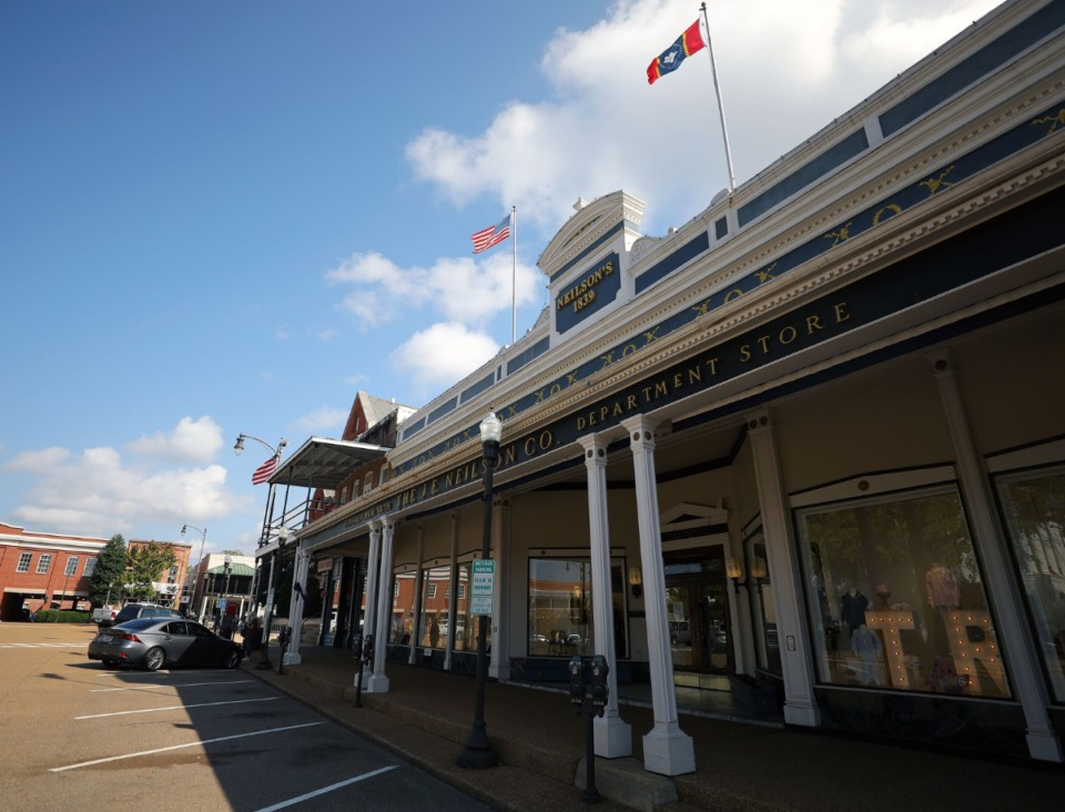 <strong>Neilson's Department Store in Oxford, Mississippi, seen on Oct. 20, 2020, is the oldest department store in the south.</strong> (Patrick Lantrip/Daily Memphian)