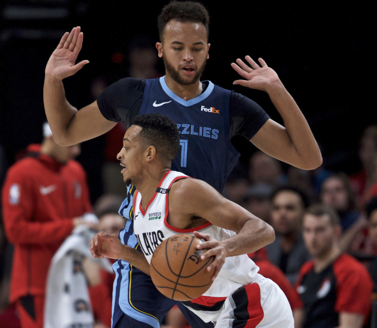 Portland Blazers Last Game: Grizzlies Road Recap: Shorthanded Grizz Fall To Trail