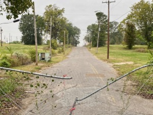 <strong>The land straddling Jefferson, just west of McNeil, remains undeveloped after demolition of structures there 10 years ago.</strong> (Tom Bailey/Daily Memphian)