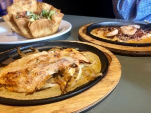<strong>Pechuga Mexicana (front), a bowl made-to-order guacamole or Pollo Cocina (back) are each $10 at Cocina Mexicana in Bartlett.</strong> (Jennifer Biggs/Daily Memphian)