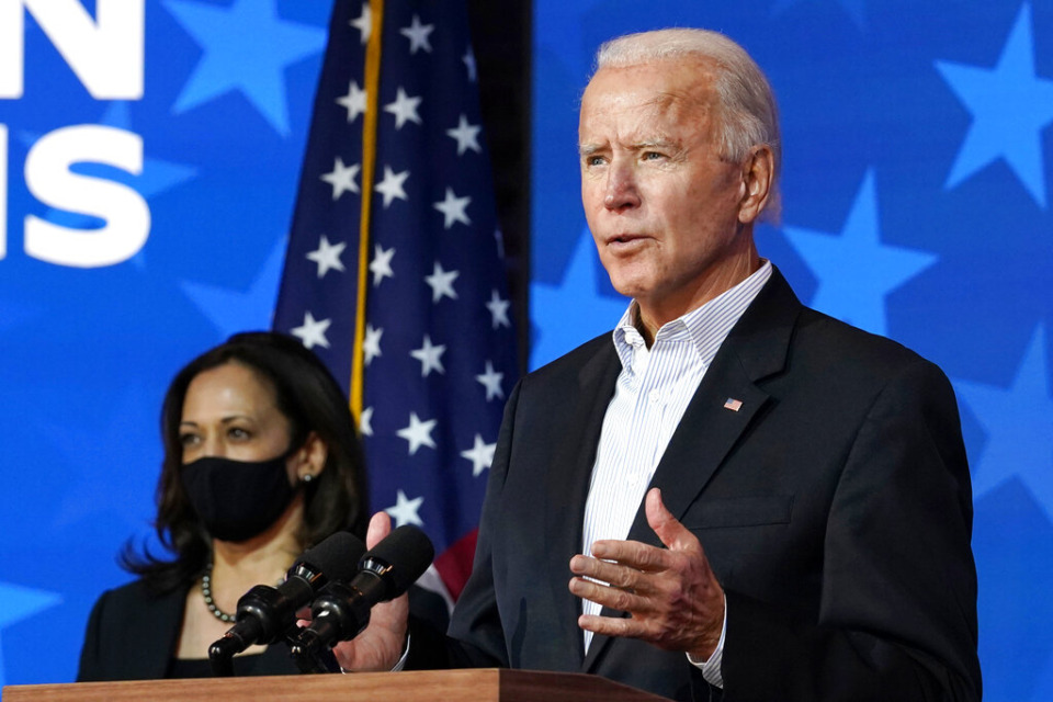 <strong>Democrat Joe Biden defeated President Donald Trump to become the 46th president of the United States on Saturday. Kamala Harris made history as the first woman, first Black woman and first person of South Asian descent to become vice president</strong>. (AP Photo/Carolyn Kaster file)