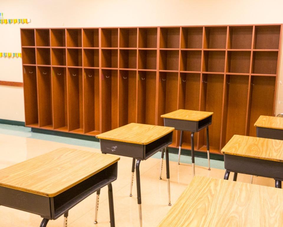 <strong>Classrooms sit empty at Winridge Elementary School in Southeast Memphis.</strong>&nbsp;(Ziggy Mack/Daily Memphian file)