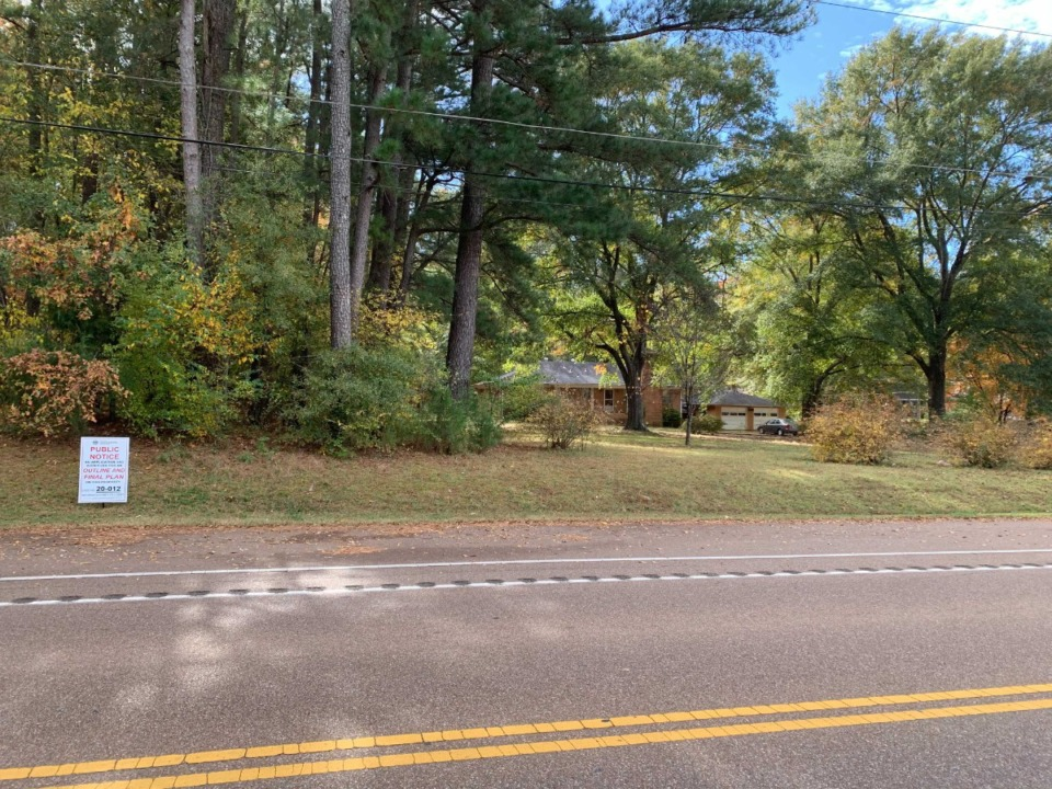 <strong>One of the Germantown properties set to be reviewed at Monday&rsquo;s Board of Mayor and Aldermen meeting. The proposal is for 18 homes on the 6 1/2 acres slightly southeast of Riverdale and Neshoba roads. </strong>(Abigail Warren/Daily Memphian)