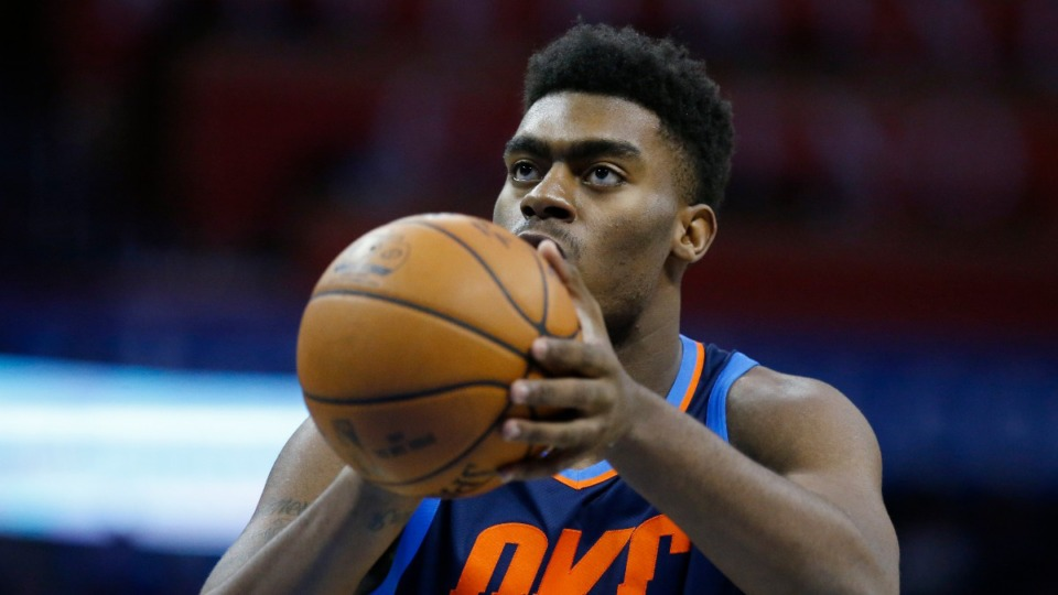 <strong>The Grizzlies have dead money on the books for bought-out player Dakari Johnson. Wait, what?</strong> (Sue Ogrocki/AP)