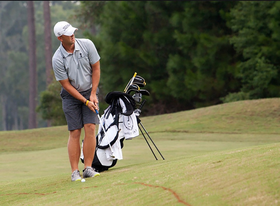 <strong>Jonathan Shuskey, 38, never played high school golf. The 19-year Army veteran taught himself the game during the past two decades while serving five tours of combat, four of which were in Afghanistan.&nbsp;</strong>&nbsp;(Photo courtesy of Jonathan Shuskey)