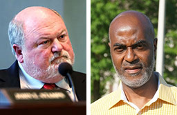 <strong>John Worley, left, is being challenged by Harold Booker for Alderman Position 3.</strong> (Daily Memphian file photos)