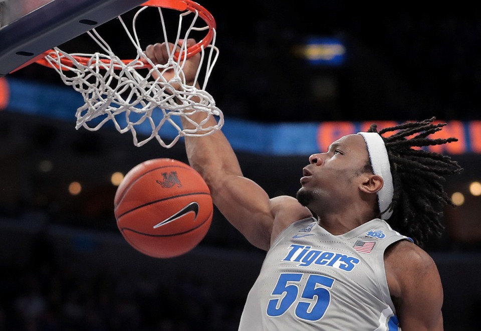 <strong>The Miami Heat selected former University of Memphis forward Precious Achiuwa with the No. 20 pick in the first round of Wednesday&rsquo;s NBA draft.</strong> (Jim Weber/Daily Memphian file)