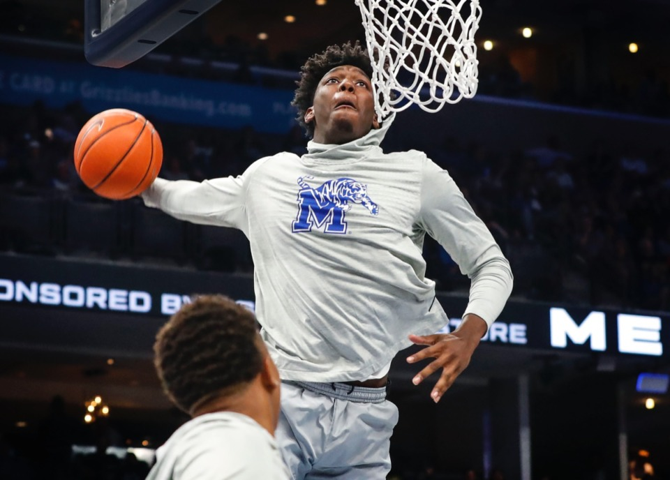 <strong>The Golden State Warriors selected former Memphis Tigers center James Wiseman as the No. 2 overall pick in Wednesday night&rsquo;s NBA draft.&nbsp;</strong>(Mark Weber/Daily Memphian file)