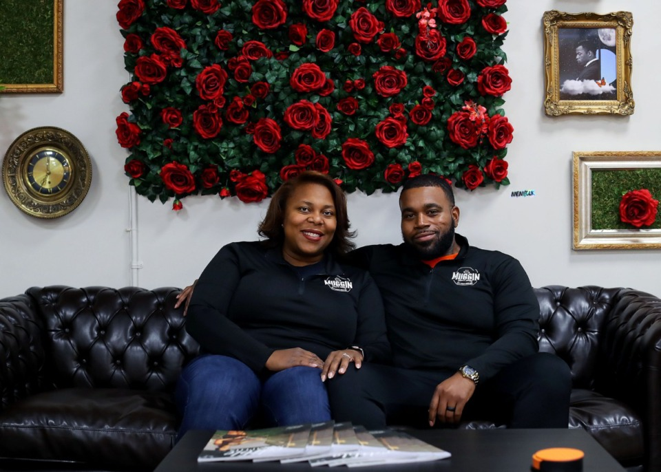 <strong>Mary and Ken Olds are the owners of Muggin&rsquo; Coffee in Whitehaven. Mary was recently featured at a seminar for Junior Achievement to share her experience as an entrepreneur.</strong> (Patrick Lantrip/Daily Memphian)