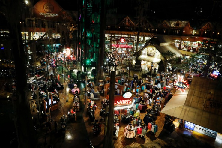 <strong>The inside of Bass Pro Shops at The Pyramid on Tuesday, Nov. 17, 2020.</strong> (Mark Weber/The Daily Memphian)
