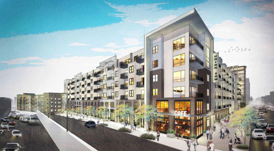 <strong>Union Row, a mixed-use project along Union Avenue, was among proposals in 2018. The $950 million planned development targets 29 acres, generally between Union Avenue on the north, Beale on the south, Danny Thomas on the east and Fourth on the west. </strong>(Submitted)