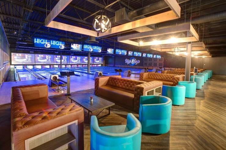 <strong>A rendering of the bowling lanes at High 5.</strong> (Submitted)