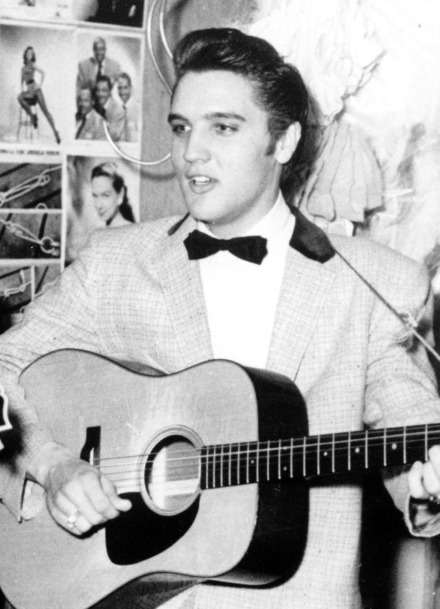 <strong>Elvis Presley, 1956</strong> (Associated Press file photo)