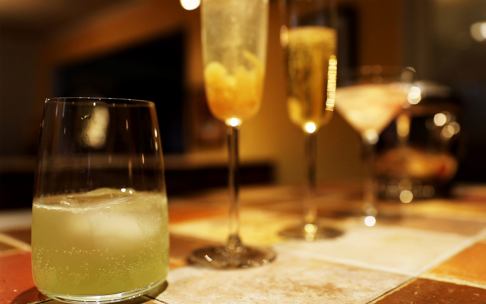 <strong>In the latest Bar Talk video, Jennifer Biggs shows how to make four champagne cocktails to help ring in the New Year.</strong> (Patrick Lantrip/Daily Memphian)