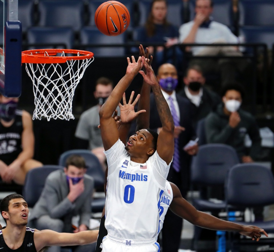 <strong>Forward D.J. Jefferies (0) goes up for a layup Dec. 4 against the University of Central Arkansas.</strong>&nbsp;<strong>This Jeffries has been MIA, but he seems to have his groove back.</strong> (Patrick Lantrip/Daily Memphian)