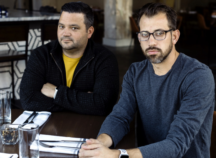 <strong>In October, chefs Andy Ticer (right) and Michael Hudman celebrated the 10-year anniversary of Andrew Michael Italian Kitchen<span>, the first of the Andy and Michael restaurants to open. </span></strong><span>(Houston Cofield/Daily Memphian file)</span>