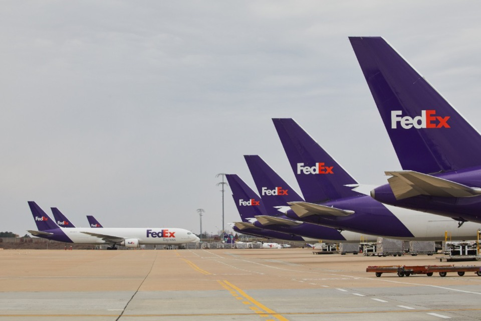 <strong>FedEx Express moves the first shipments of Pfizer&rsquo;s COVID-19 vaccine in the U.S. on Sunday, Dec. 13.</strong> (Courtesy FedEx)