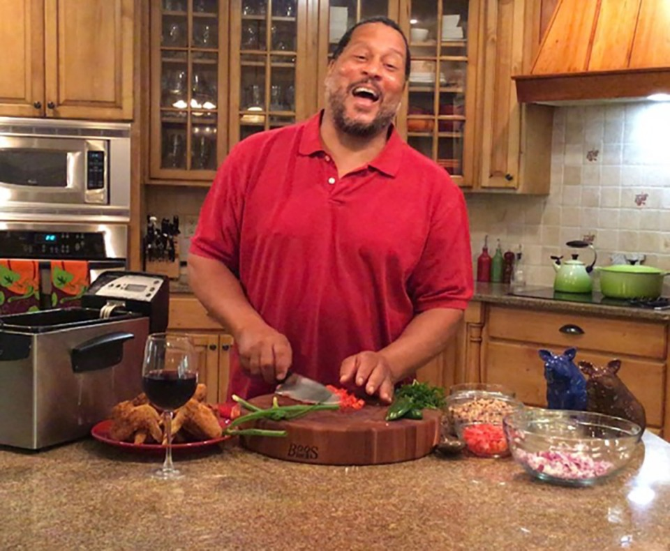 <strong>Pat Neely is still in the kitchen, albeit a different one from where we last saw him, in a different town, with a new family, and on YouTube, not Food Network.</strong> (Courtesy Pat Neely)