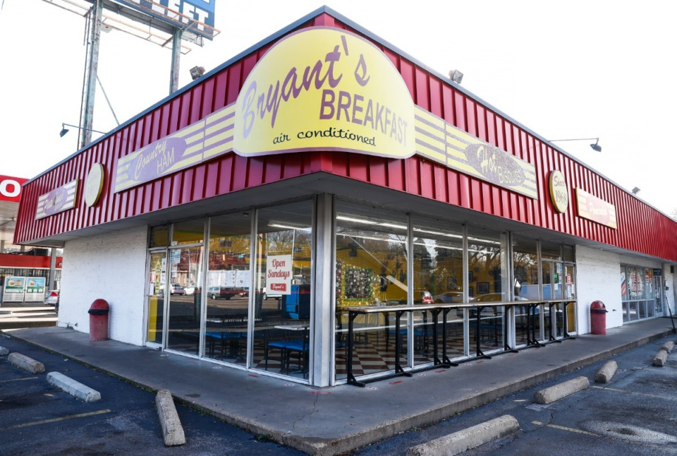 <strong>Bryant&rsquo;s Breakfast seen on Friday, Dec. 18, 2020 is for sale.</strong> (Mark Weber/The Daily Memphian)