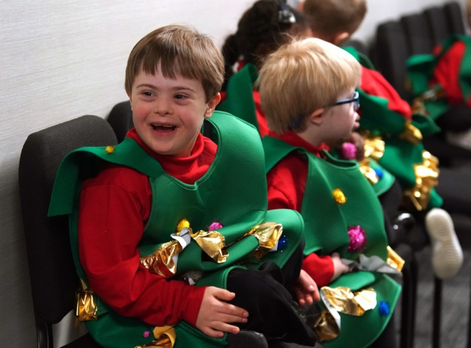 <strong>Last year Madonna Learning Center students rehearsed for the school&rsquo;s 50th annual Christmas Play.</strong>&nbsp; ( Karen Pulfer Focht/Daily Memphian file)