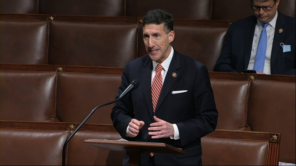 <strong>Rep. David Kustoff (in a file photo, speaking on the floor of the House of Representatives at the U.S. Capitol) is a graduate of White Station High School, the University of Memphis and the U of M Law School.</strong> (AP)