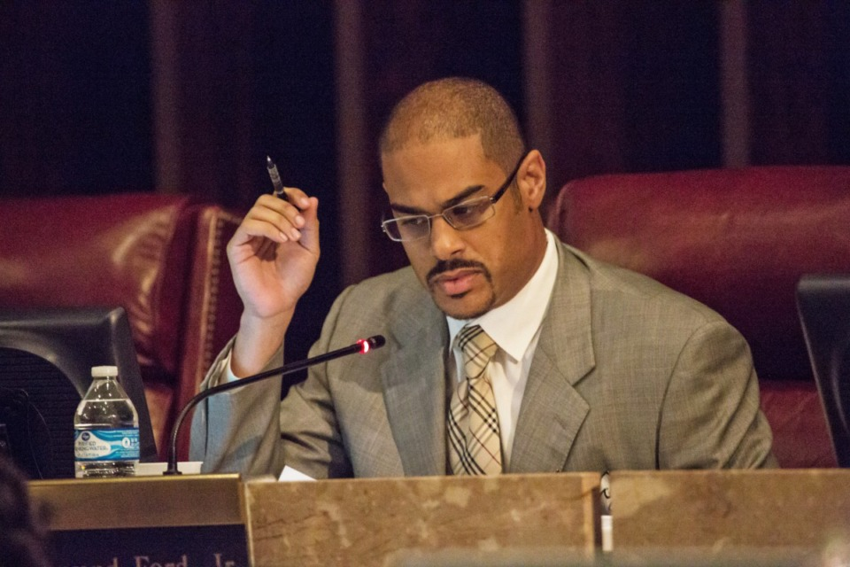 <strong>&ldquo;Now we&rsquo;re hearing wrongful death,&rdquo; said Commissioner Edmund Ford Jr., seen here in 2016, &ldquo;First was the pandemic. Then it was complex litigation. It&rsquo;s like a chameleon.&rdquo;</strong> (Daily Memphian file)