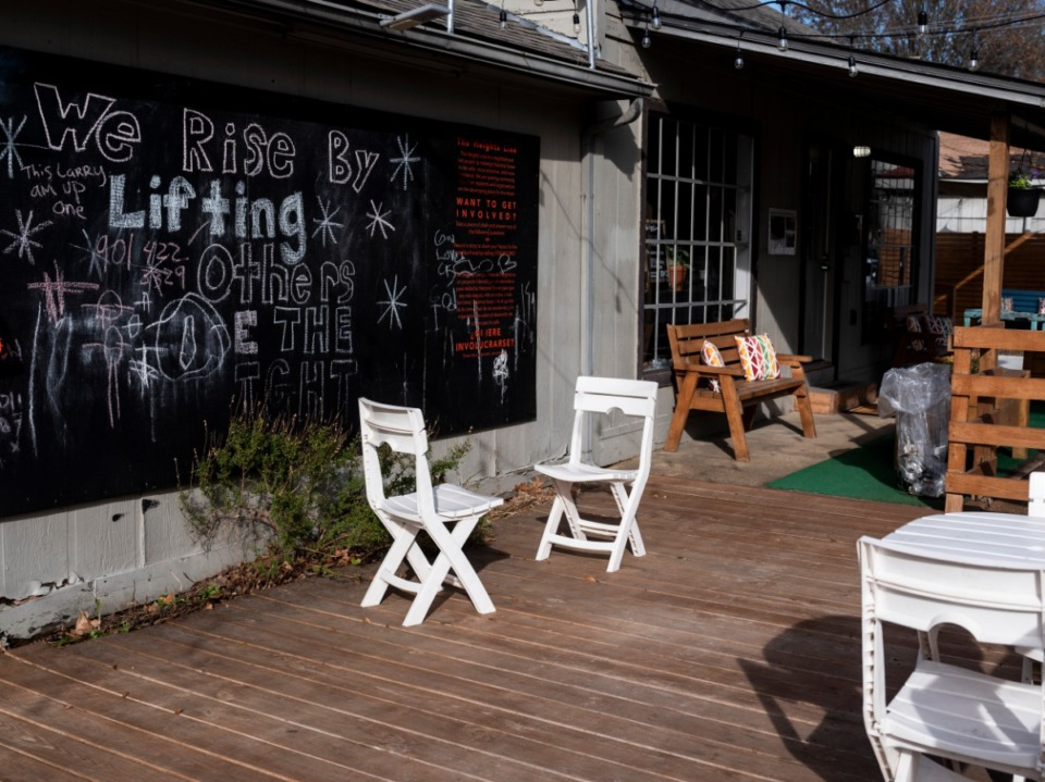 <strong>The recently opened Not a Coffee Shop is at 761 National St., in the Heights neighborhood, near Summer Avenue and National Street. The area includes Brinkley Heights, Mitchell Heights, Highland Heights and Graham Heights.&nbsp;</strong>(Brad Vest/Special to Daily Memphian)