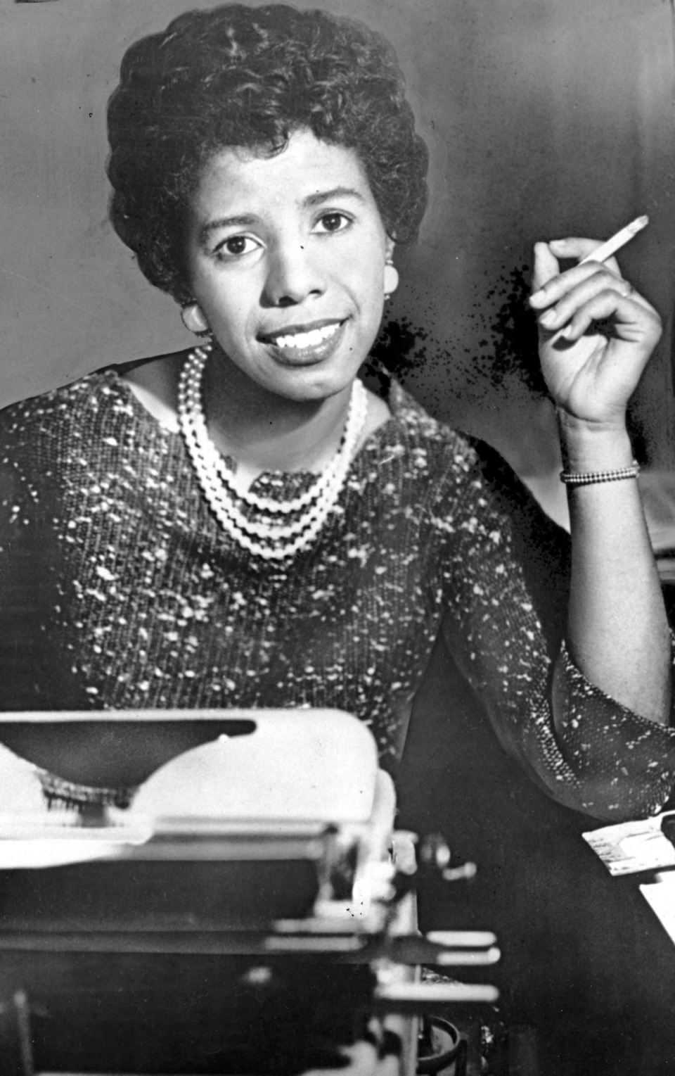 <strong>Playwright Lorraine Hansberry (in a 1959 photo) will be represented in &ldquo;Say It Loud.&rdquo;</strong> (NY Herald Tribune/AP file)