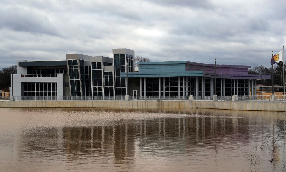 <strong>The new Raleigh Springs Civic Center sits at the site that formerly was the Raleigh Springs Mall.</strong> (Patrick Lantrip/Daily Memphian)
