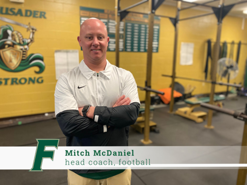 <strong>Mitch McDaniel is the new football coach at First Assembly Christian School.</strong> (submitted photo)