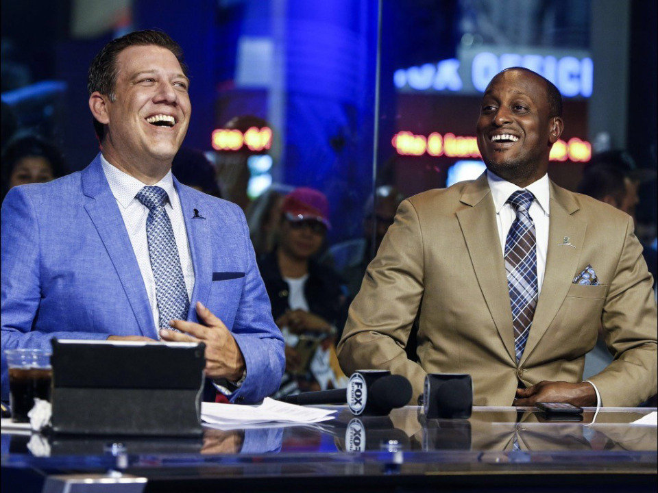 <strong>Rob Fischer (left), part of the Grizzlies television broadcast team, is a&nbsp;warm, open, funny guy. But even he can suffer from suicidal depression.</strong> (Submitted)